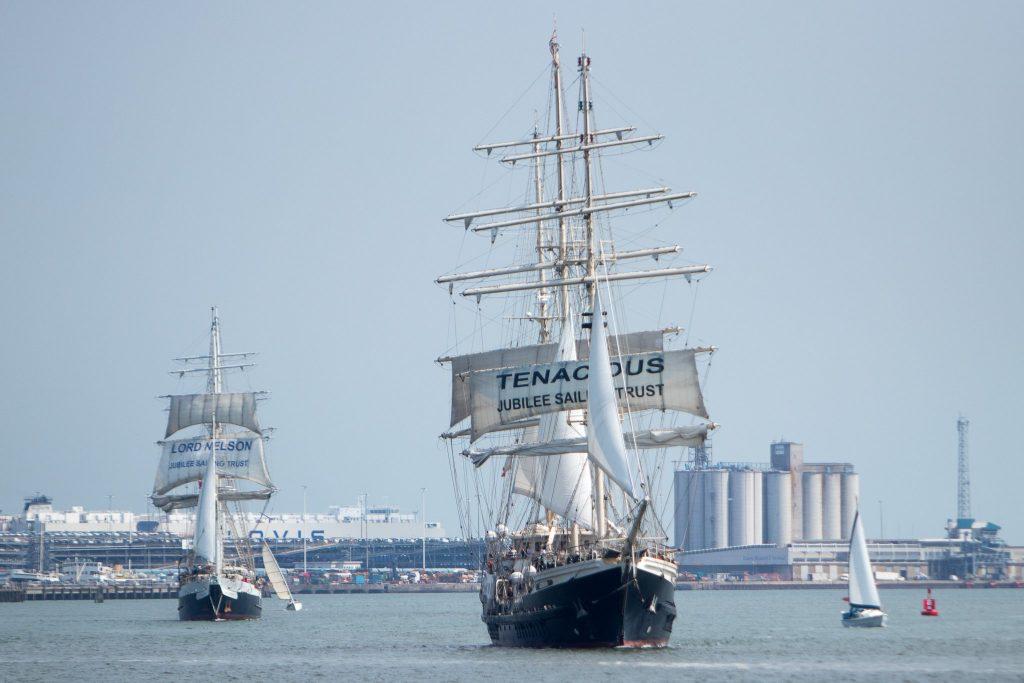 Tenacious returns to her home port tomorrow!