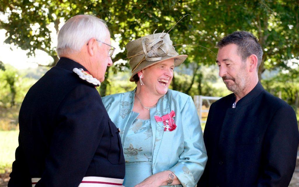 Congratulations to Elizabeth 'Hammie' Tappenden MBE