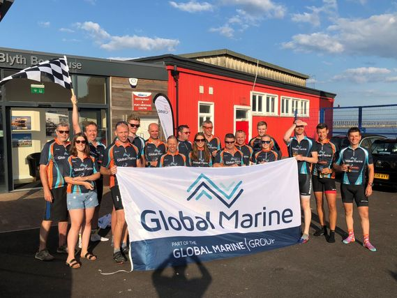 Global Marine Group go the extra mile for JST