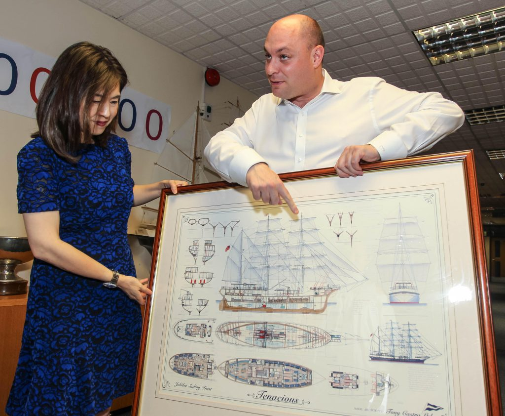 Amy Lam Poon, President of JST UK and Hong Kong visits the JST Office