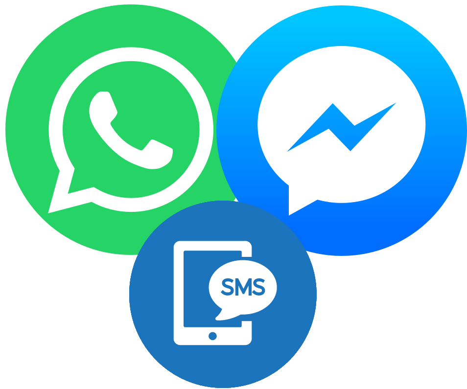 Contact the JST by Messenger, WhatsApp, SMS