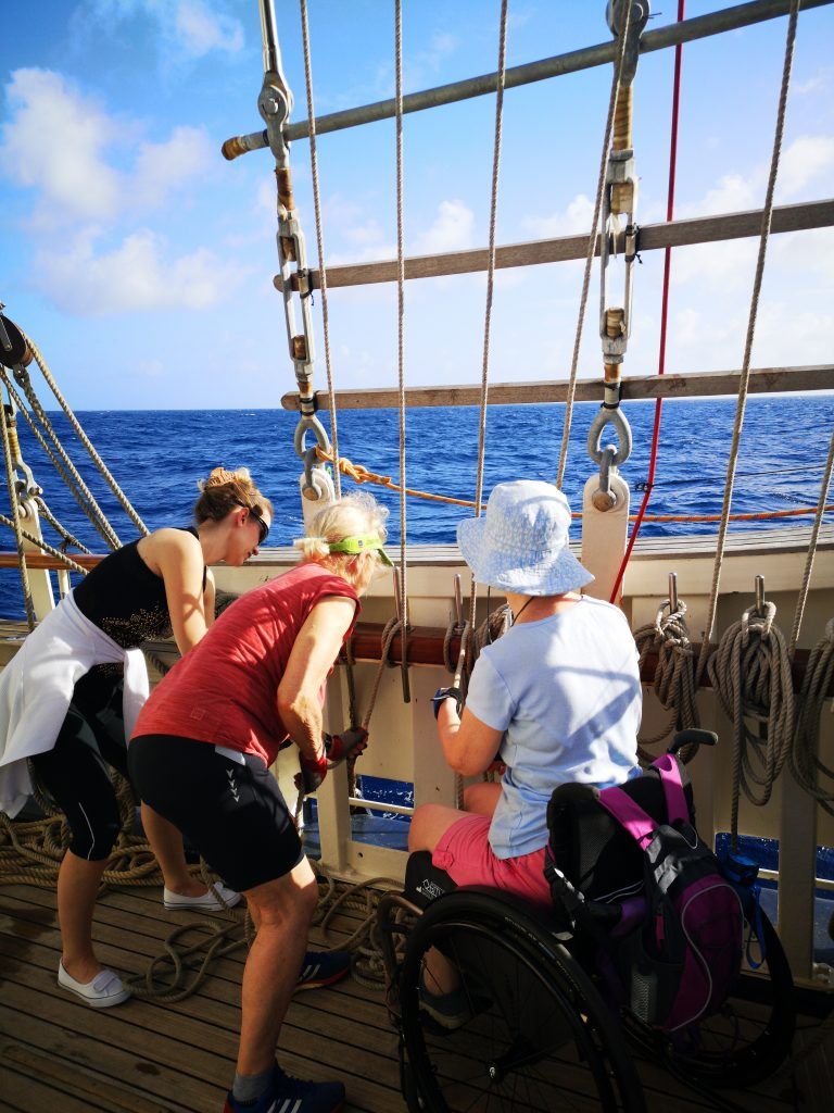 Blogs from the ship – transatlantic voyage from Antigua