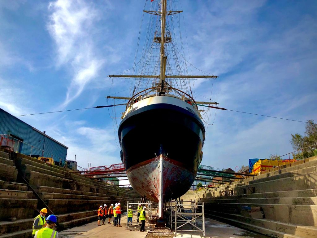 Luke's blog: counting down to the end of the special survey and refit (8th October)
