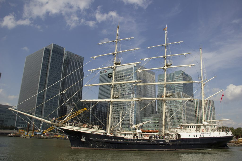 From London to Portsmouth – a blog from the ship