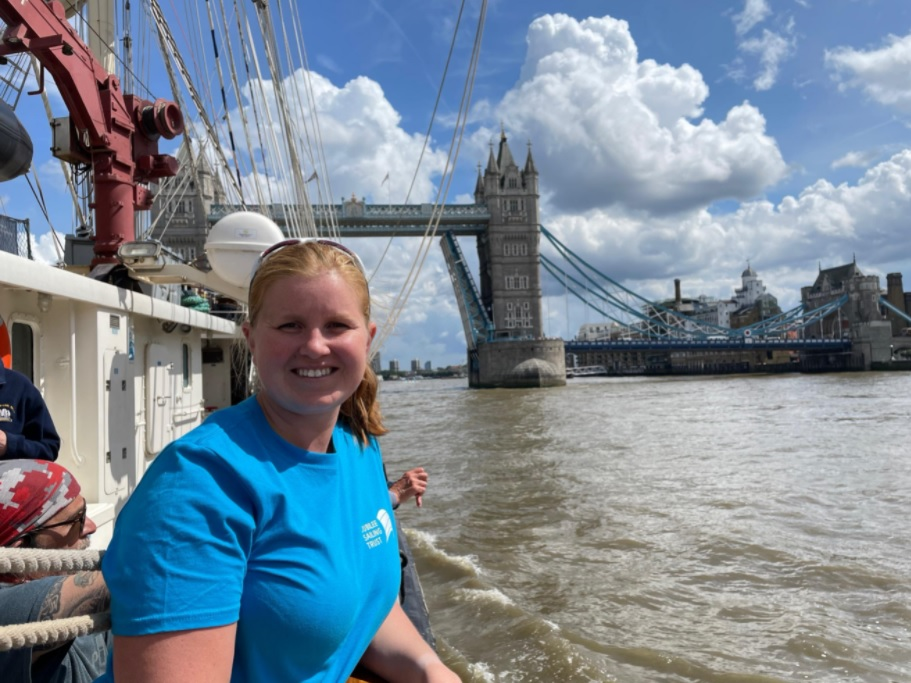 Blogs from the ship – Leith to London