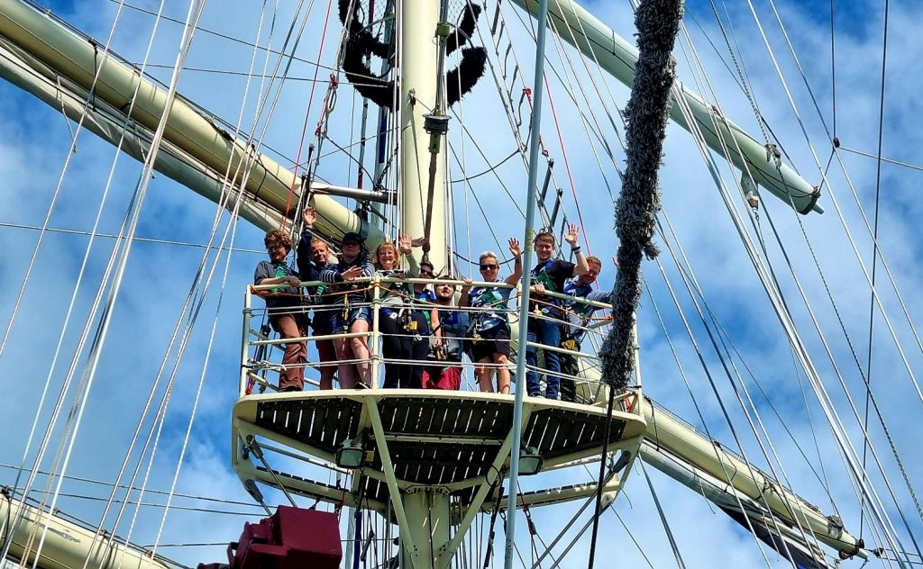 Blogs from the Ship: TS591 Portsmouth roundtrip